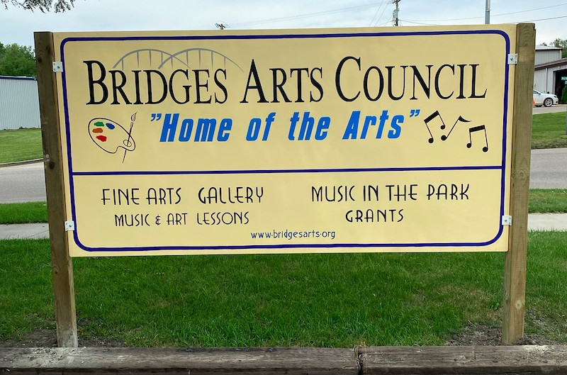 Bridges Arts Sign